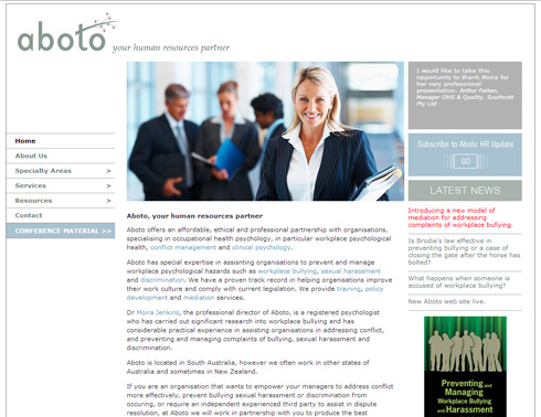 Original Aboto Site