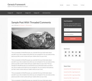 Genesis WordPress Templates
