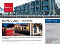 Normus Urban Projects web Site