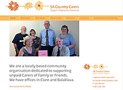 SA Country Carers Web Site