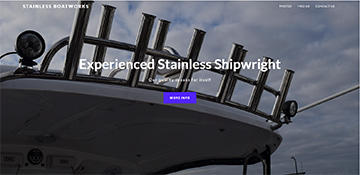 Stainless Boatworks web site